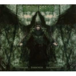 DIMMU BORGIR (Norway) - Enthrone Darkness Triumphant (CD, Album)