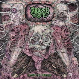 BROKEN HOPE (US) - Omen of Disesase (Vinyl, LP Gatefold + Download Card, 2013)