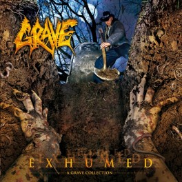 GRAVE (Sweden) – Exhumed (A Grave Collection)(2×Vinyl, LP, Compilation, Limited Edition, Gatefold,  2010)
