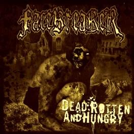 FACEBREAKER (Sweden) – Dead, Rotten and Hungry (LP, New, 2008) Ltd, Red Transparent