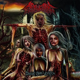 AFFLICTIVE EMASCULATION (Spain) ‎– Obscure Slam Vomition CD 2012