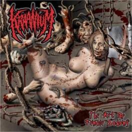 KRAANIUM (Norway) – The Art of Female Sodomy LP 2016 (Slam) Reissue!!