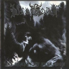 WEREWOLF (Poland) ‎– The Temple of Fullmoon LP 2015 (Black Metal) White, Ltd.