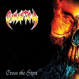 SINISTER (Holland) – Cross the Styx LP 2018 Repress, Electric Blue