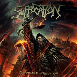 SUFFOCATION (US) - Pinnacle of Bedlam (LP, Album, Limited, Clear w/ Green Splatter)